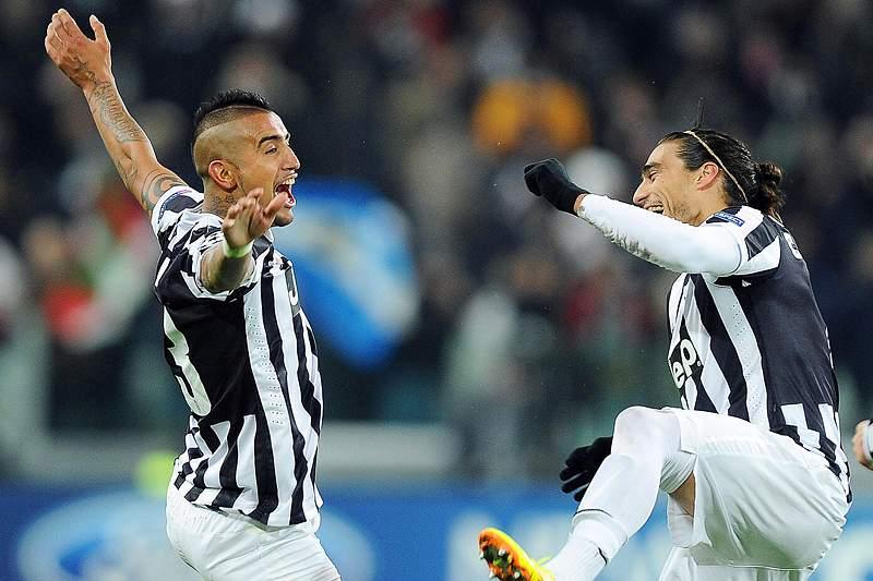 Vidal renova com a Juventus