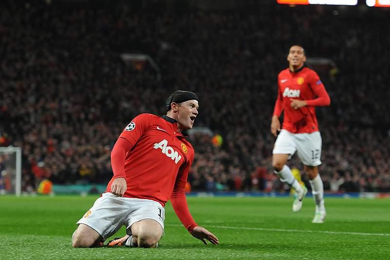 Rooney bisa na vitória do Manchester