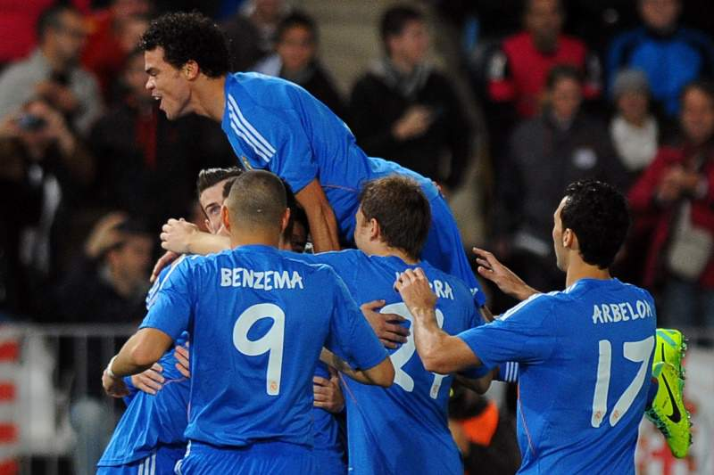 Real Madrid goleia em Almeria