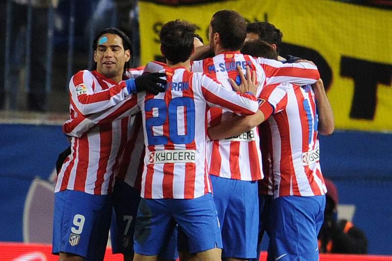 Atlético Madrid regressa às vitórias