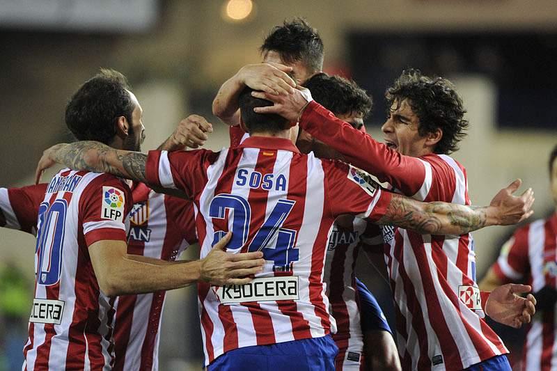Atlético de Madrid líder isolado