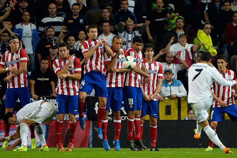 Atlético vence Real no Bernabéu