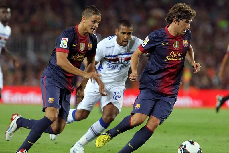 Sampdoria conquista torneio Joan Gamper em Camp Nou