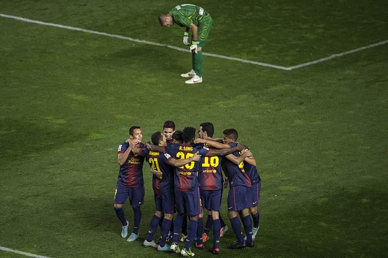 Barcelona de mão cheia em Madrid