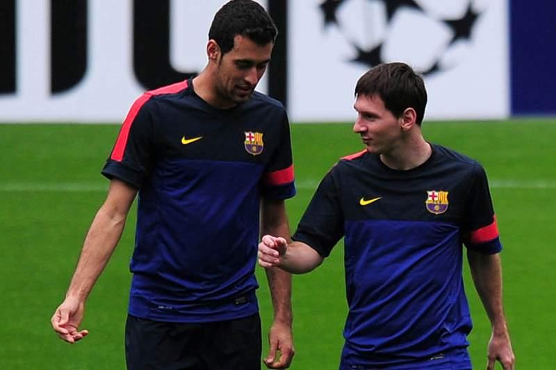 Barcelona recorre dos dois jogos de castigo impostos a Busquets