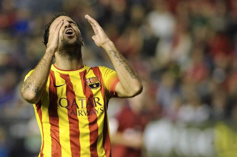 Barcelona empata e tem a liderança em risco