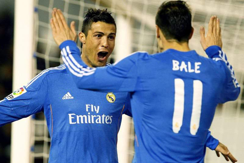 Ronaldo sai lesionado do encontro em Almeria