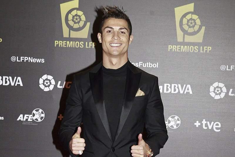 Cristiano Ronaldo foi eleito o jogador mais valioso da Liga