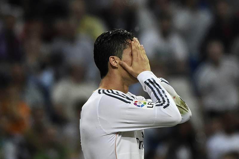 Lesão volta a travar Ronaldo