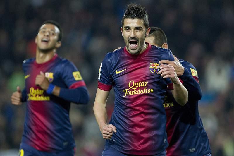 Barcelona segue, em grande, para os