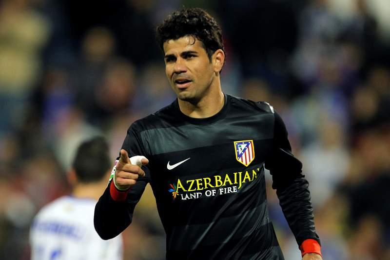 Diego Costa continua sem treinar, a quatro dias do jogo na Luz