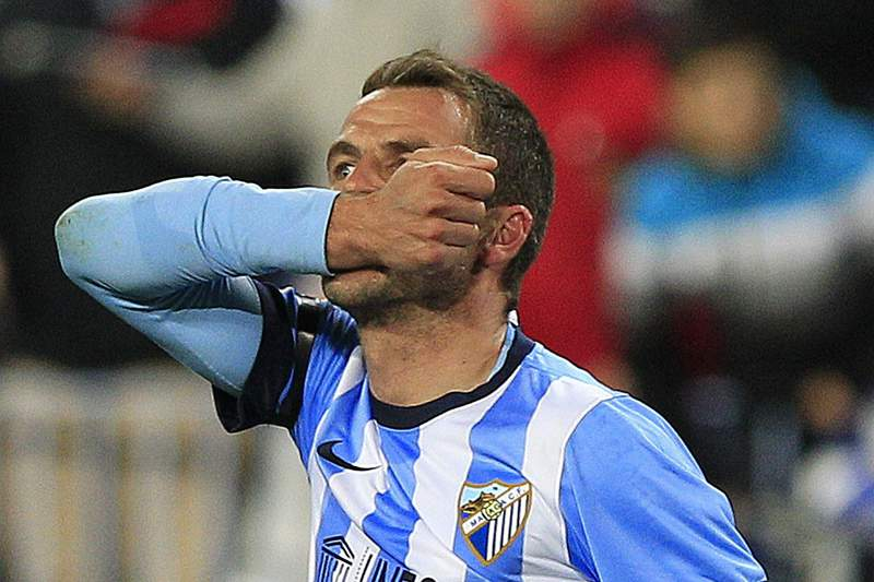 Málaga empata 1-1 com Valladolid