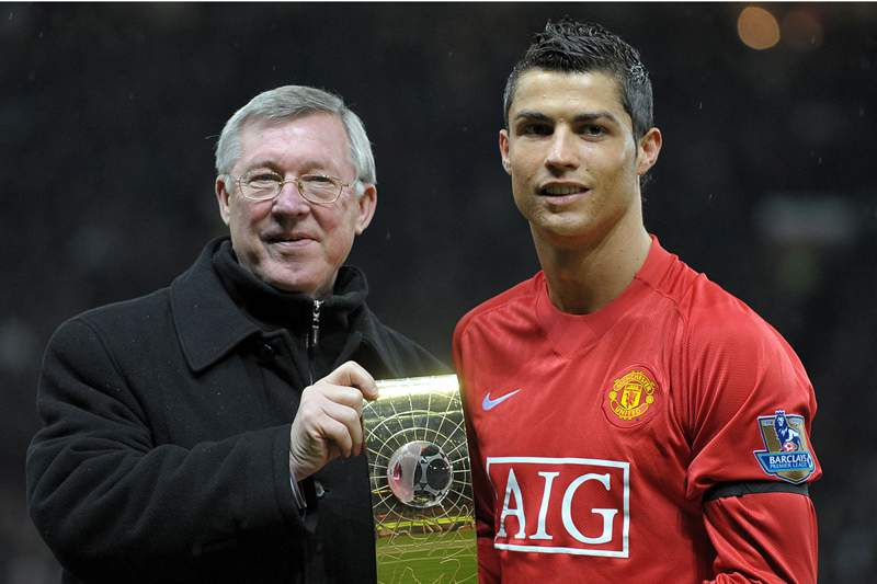 Cristiano Ronaldo sente a falta de Ferguson