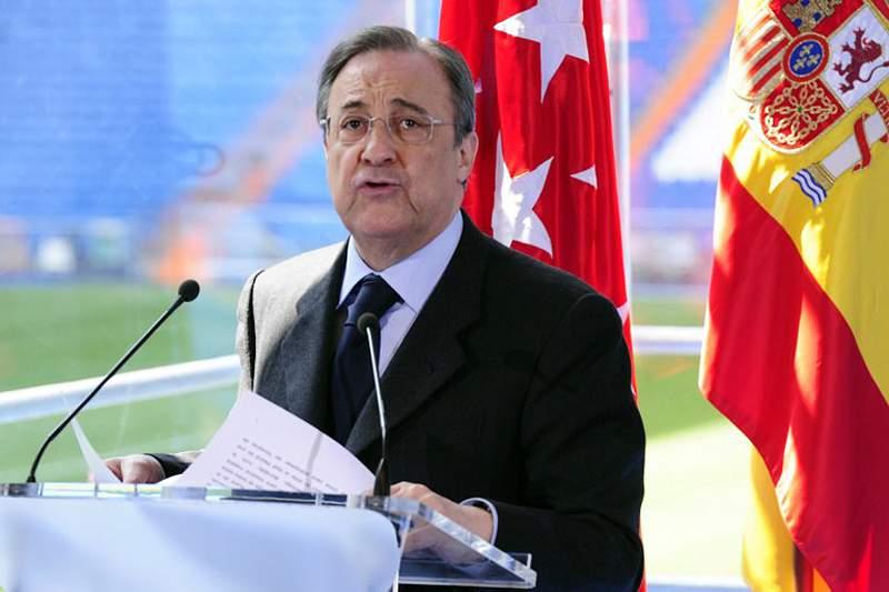 Florentino Pérez convoca imprensa