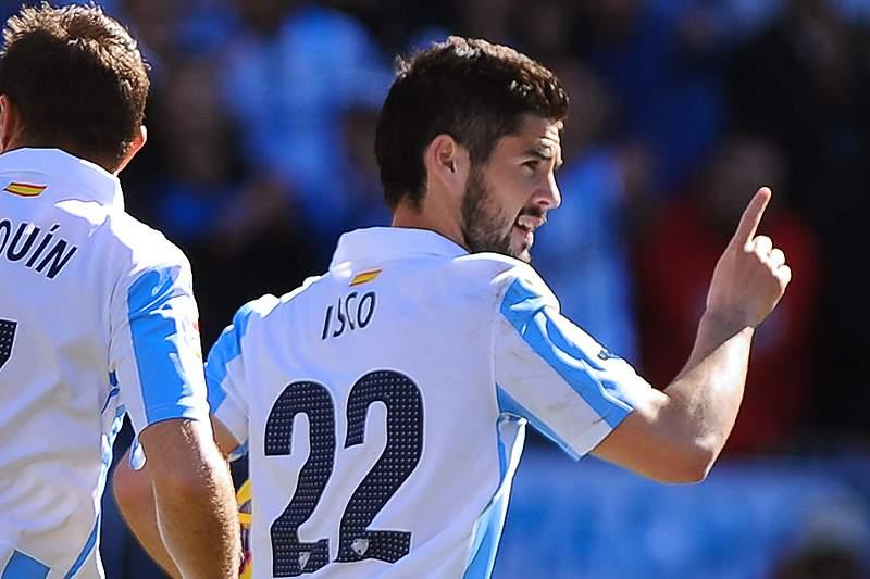 Málaga vai retirar camisola 22 de Isco