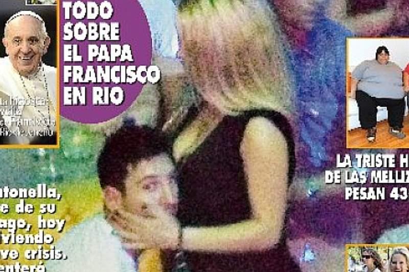 Messi em fotos polémicas