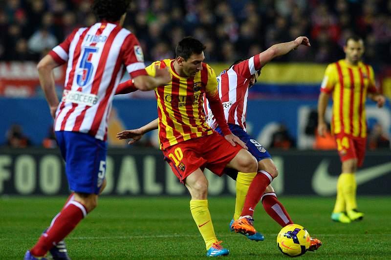 Atlético e Barça não vão além do nulo