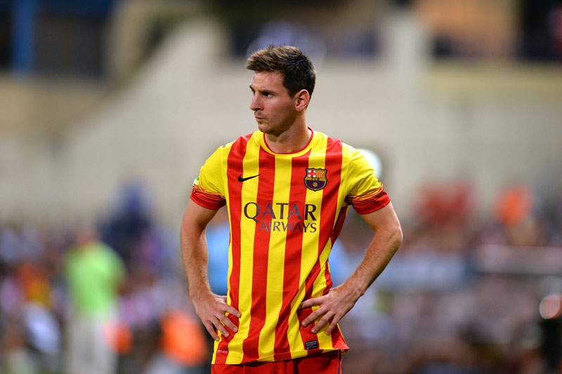 Messi quer Aguero no Barcelona