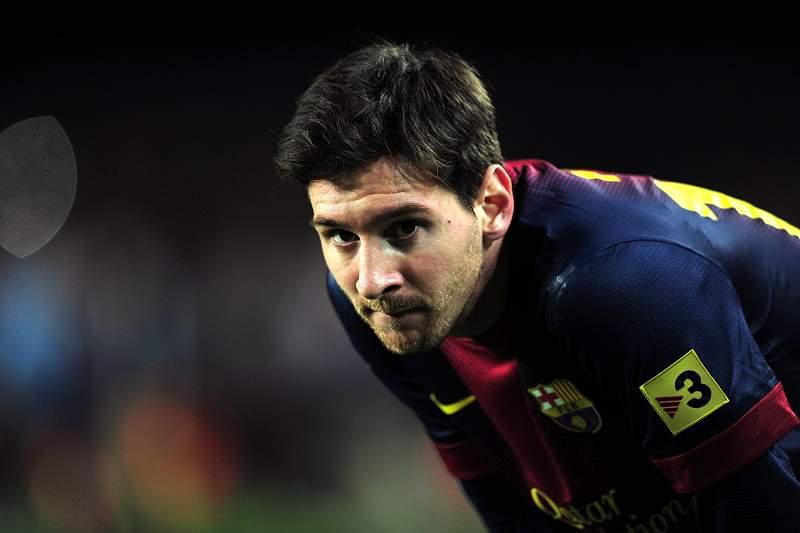 Messi já soma 25 golos na Liga