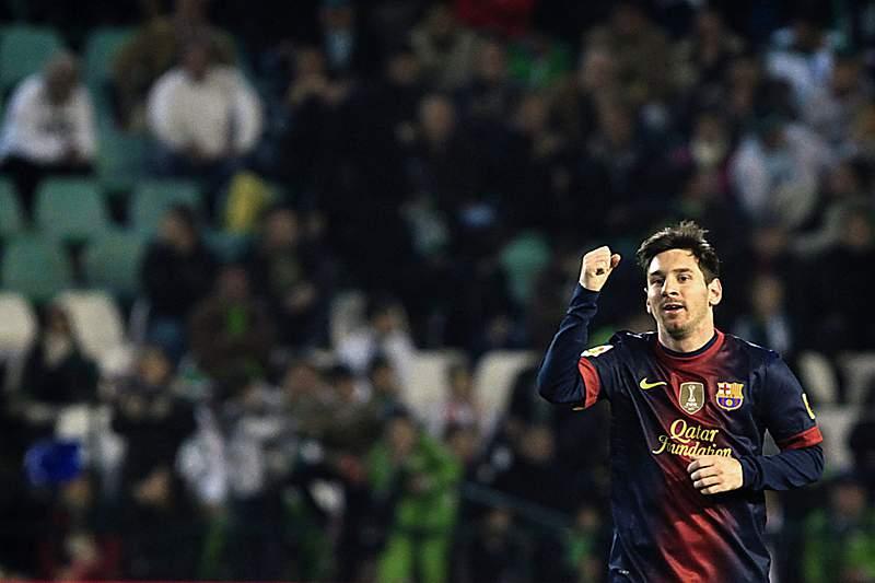 Messi superou recorde de golos num ano