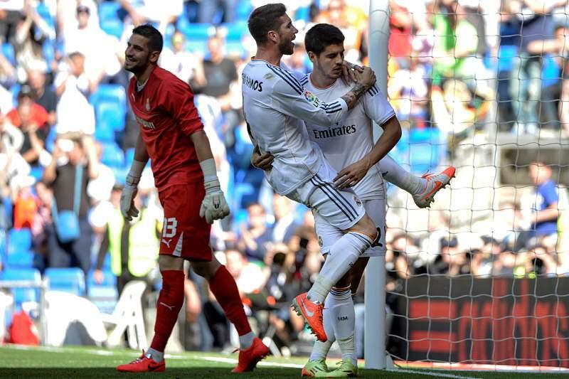 Real Madrid despede-se a vencer