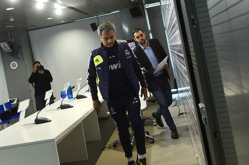 Mourinho faltou à conferência de imprensa
