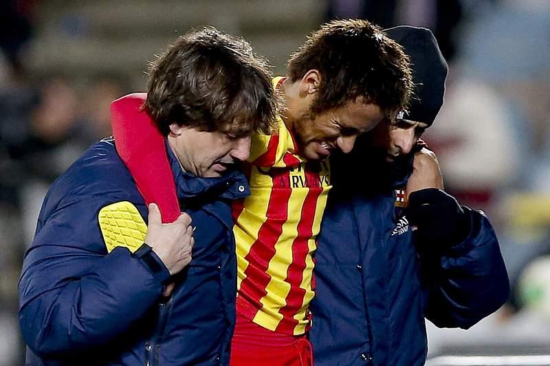 Neymar afastado dos relvados três a quatro semanas