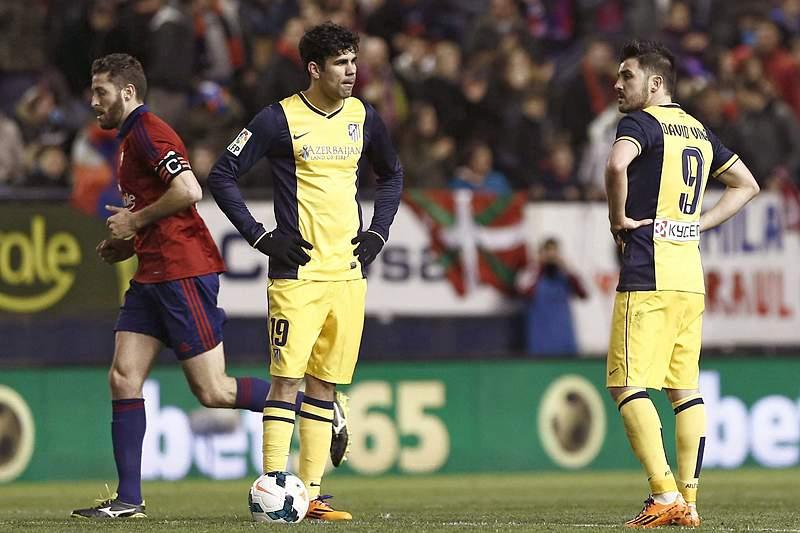 Atlético Madrid cede liderança isolada ao Real Madrid