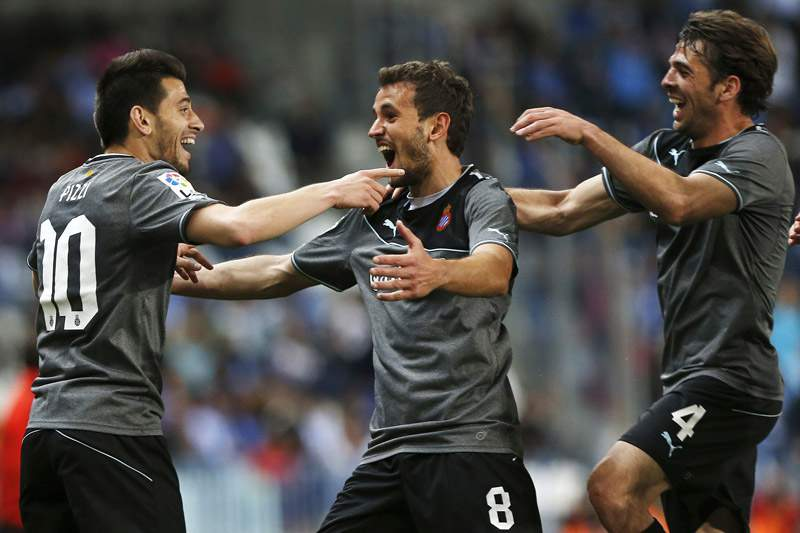 Espanyol vence em Málaga com golo português