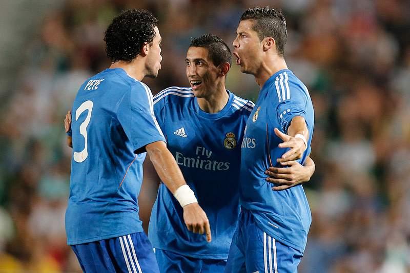 Ronaldo e Pepe jogam de início em Munique