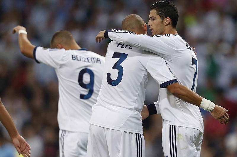 Cristiano bisa na vitória do Real