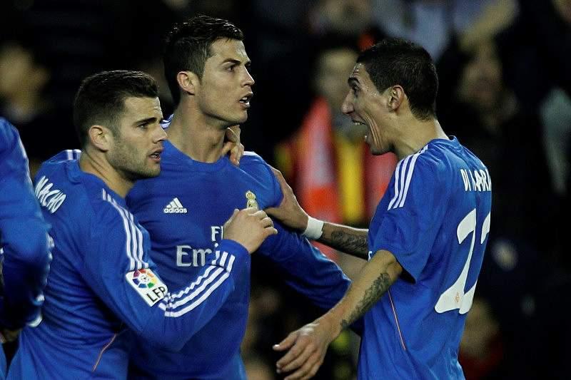 Real Madrid complicou mas ganhou em Valência