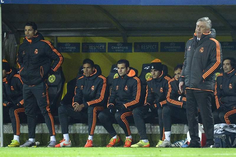 Ancelotti confirma ausência de Ronaldo no próximo jogo