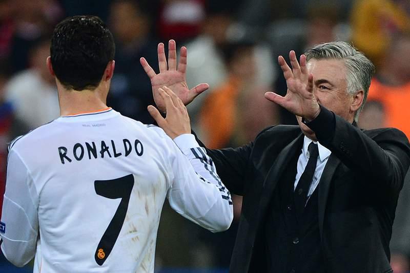 Ancelotti diz que Ronaldo vai jogar, Pepe quase