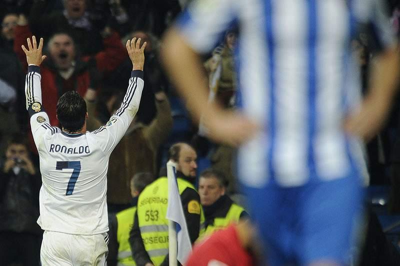 Ronaldo em grande, no regresso às vitórias do Real