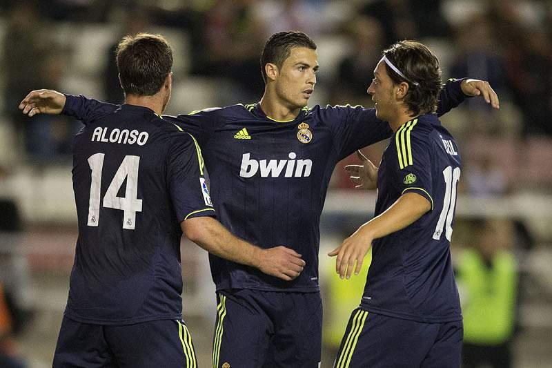 Cristiano Ronaldo regressou aos golos na liga espanhola