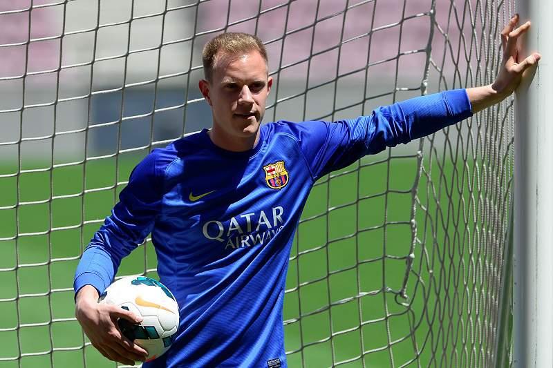 Ter Stegen assinou pelo Barcelona
