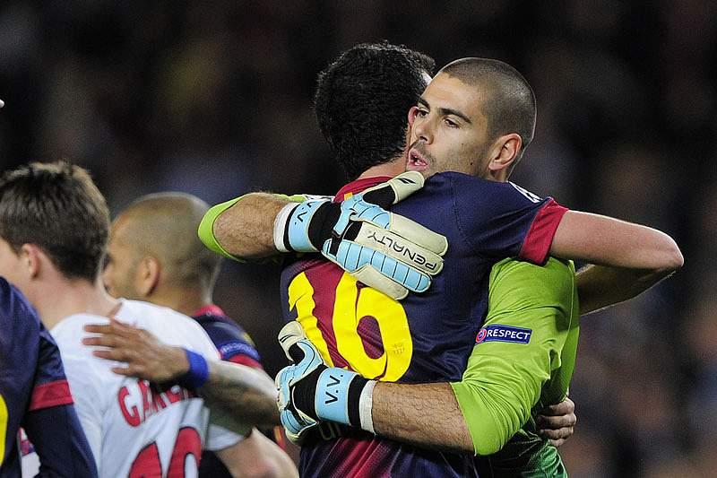 «Vou chorar com a saída de Valdés»