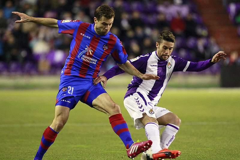 Valladolid empata em casa com Levante