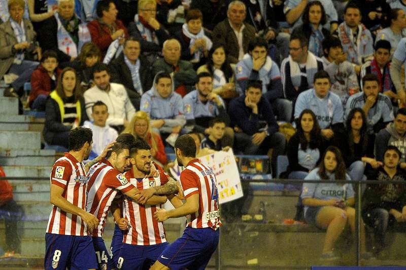 Villa coloca Atlético no segundo lugar