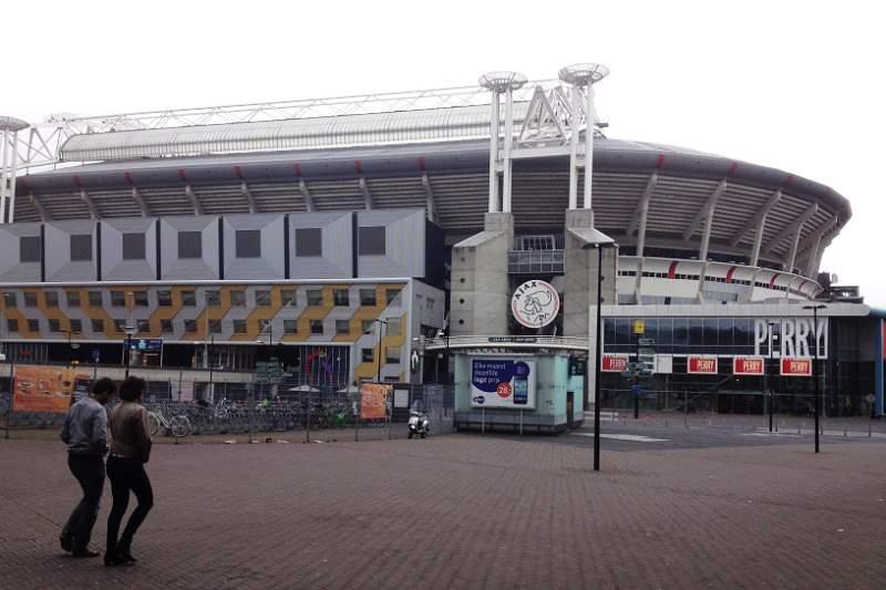 Um 'souvenir' do Benfica no Arena de Amesterdão