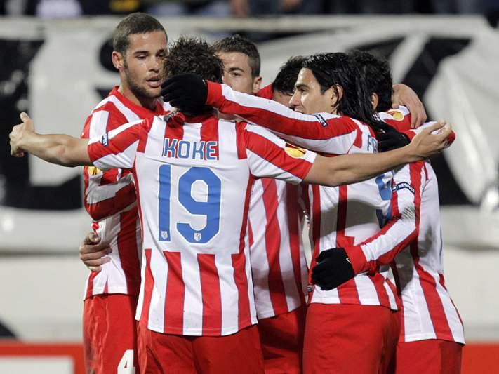 Atlético de Madrid confirma passagem aos quartos