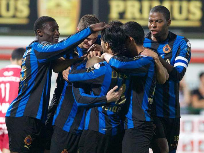 Club Brugge goleia fora o Beveren