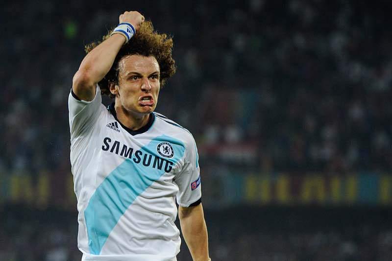 David Luiz no Paris Saint-Germain
