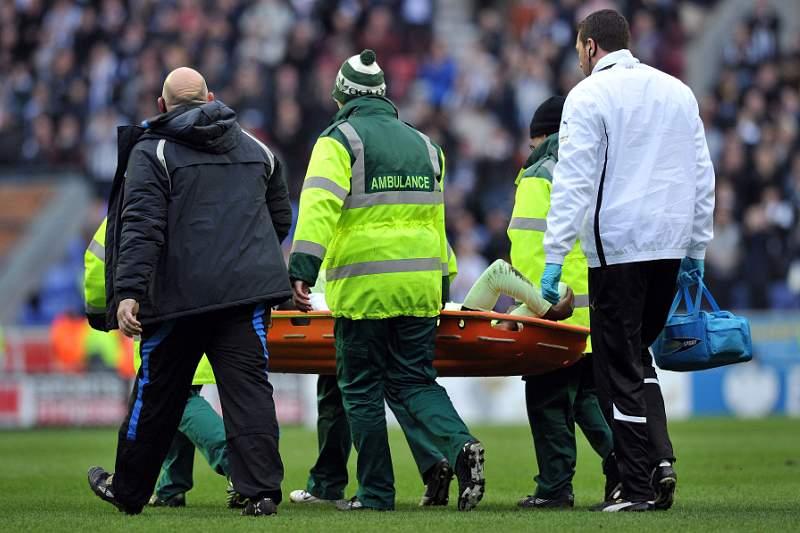 Haidara sofre entrada violenta e é levado para o hospital