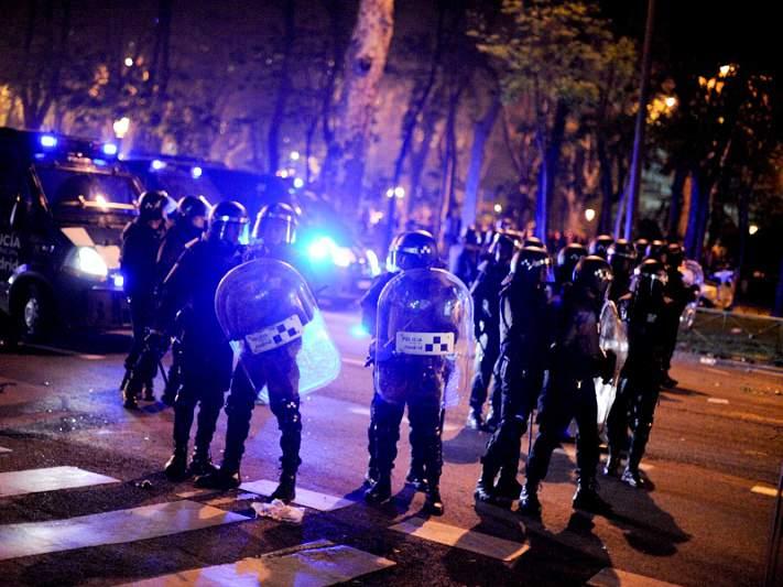 13 feridos nos festejos da vitória do Atlético de Madrid