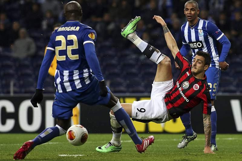 Eintracht empata a partida