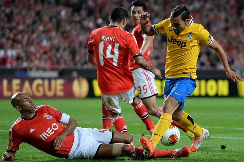 Benfica em Turim a sonhar com segunda final consecutiva