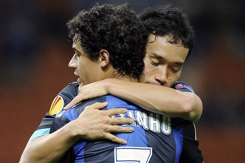 Nagatomo salva Inter de derrota