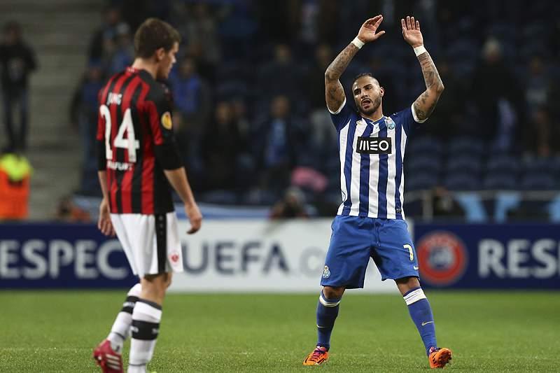 Cenário difícil para o FC Porto em Frankfurt